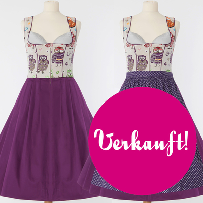 "Designer-Dirndl ""My beauty Owl"""