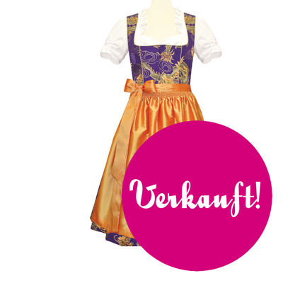 "Designer-Dirndl ""Golden Dragon"""